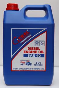 Diesel Engine Oil SAE 40